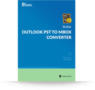 Stellar Outlook PST to MBOX Converter – Win